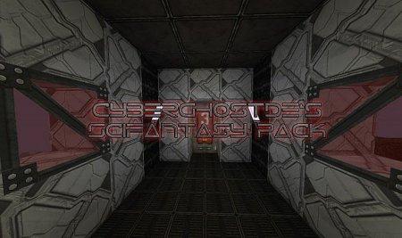 Скачать Cyberghostde's Scifantasy для minecraft 1.8.1