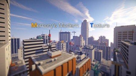 Скачать Memory's modern texture для minecraft 1.8.1