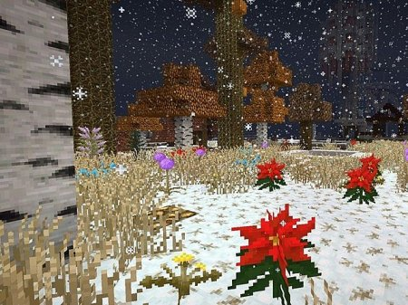Скачать LithosChristmas Add-on для minecraft 1.8.1