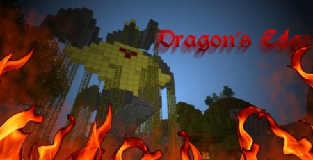 Скачать Dragon's Edge Resource Pack для Minecraft 1.7.10