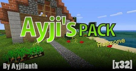 Скачать AyjiPack [32x] для Minecraft