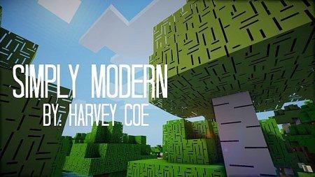 Скачать Simply Modern [64x] для Minecraft