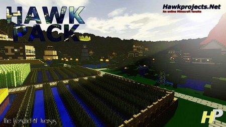 Скачать Hawkpack (Alpha) Resource Pack для Minecft 1.9