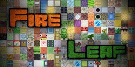 Скачать Fire Leaf [16x] для Minecraft