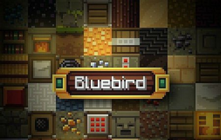 Скачать Bluebird Official Continuation Resource [16x] для Minecraft