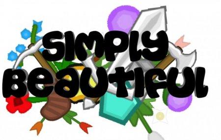 Скачать Simply Beautiful [128x] для Minecraft 1.8