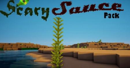Скачать ScarySauce [16x] для Minecraft 1.8