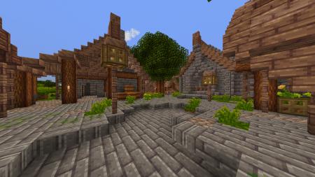 Скачать Woodpecker [16x] для Minecraft 1.8