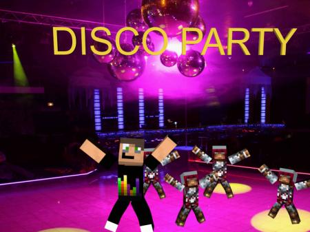 Скачать Disco Party для Minecraft