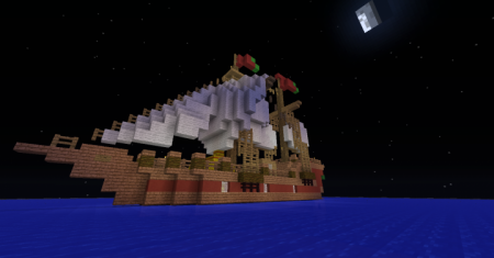 """Скачать Segelschiff Ship """"Mauritius для Minecraft"""