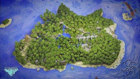 Скачать Forgotten Island для Minecraft
