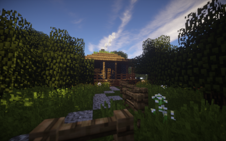 Скачать A Small House in the Forest для Minecraft