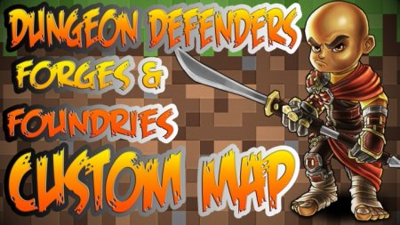 Скачать Dungeon Defenders Forges and Foundries для Minecraft
