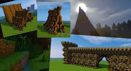 Скачать Nordic Building Pack 2 для Minecraft