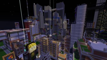 Скачать We're Back! - REDSTONE CITY! для Minecraft