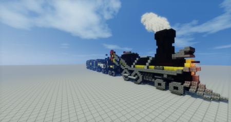 Скачать Crazy Turbo Train для Minecraft