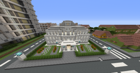 Скачать Alexberg - A Diverse City для Minecraft