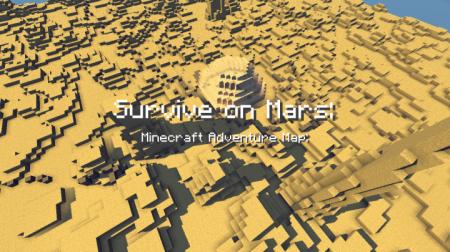 Скачать Survive On Mars для Minecraft