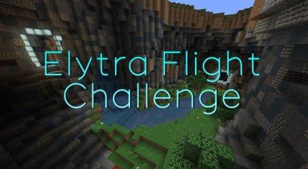 Скачать  Elytra Flight Challenge для Minecraft 1.9