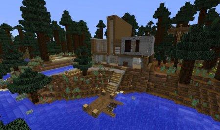 Скачать Casa Moderna - Modern House 5 для Minecraft