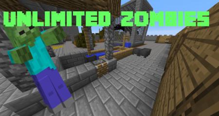 Скачать Unlimited Zombie Waves для Minecraft