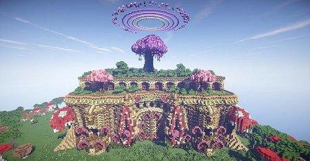 Скачать Mushellia - Temple of Tropical Forest 2 для Minecraft