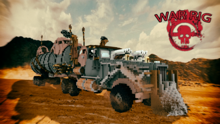 Скачать The War Rig [MadMaxExeption] для Minecraft