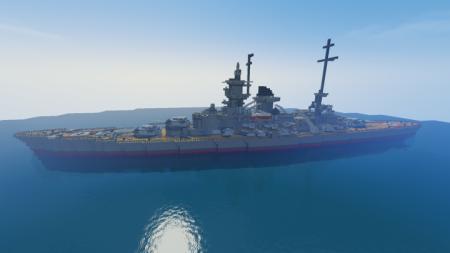 Скачать Battleship Scharnhorst для Minecraft