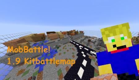 Скачать Mob Battle для Minecraft 1.9