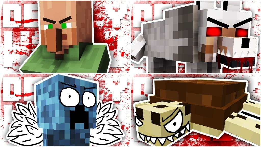 мод deadly world майнкрафт #3