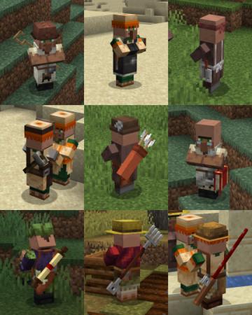 Скачать Villagers Enhanced для Minecraft 1.13.2