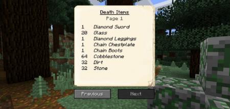 Скачать EuhDawson's GraveStone для Minecraft 1.16.1