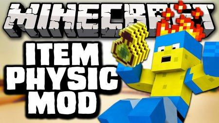 Скачать ItemPhysic для Minecraft 1.16.2