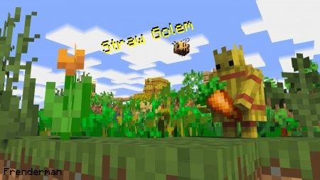 Скачать Straw Golem Reborn для Minecraft 1.16