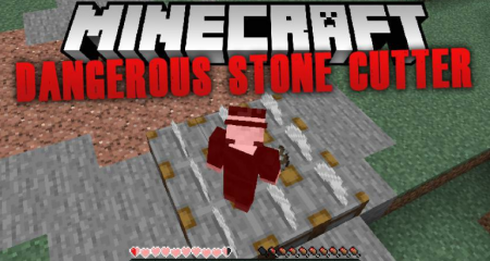 Скачать Dangerous Stone Cutter для Minecraft 1.16.1