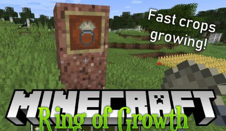 Скачать Ring of Growth для Minecraft 1.16.2