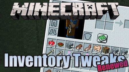 Скачать Inventory Tweaks Renewed для Minecraft 1.15