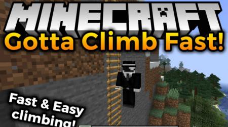 Скачать Gotta Climb Fast для Minecraft 1.16.2
