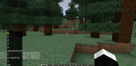 Скачать GamemodeOverhaul для Minecraft 1.15.2