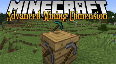 Скачать Advanced Mining Dimension для Minecraft 1.16.2