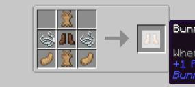 Скачать Bunny Boots для Minecraft 1.16.1
