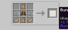 Скачать Bunny Boots для Minecraft 1.16.2