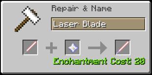 Скачать ToLaserBlade для Minecraft 1.16.3