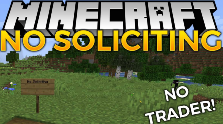 Скачать No Soliciting для Minecraft 1.16.1
