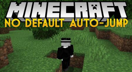 Скачать No Default Auto-Jump для Minecraft 1.16.1