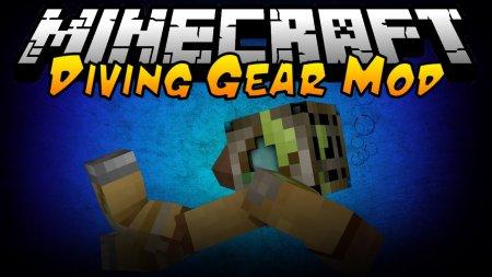 Скачать Simple Diving Gear для Minecraft 1.16.3