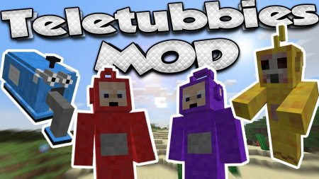 Скачать Teletubbie для Minecraft 1.16.3