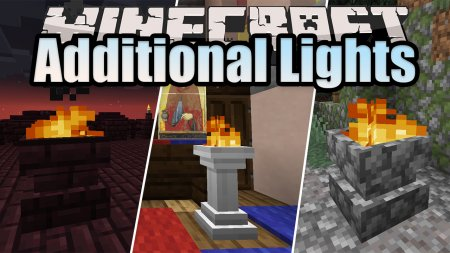 Скачать Additional Lights для Minecraft 1.16.3