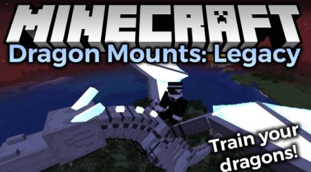 Скачать Dragon Mounts: Legacy для Minecraft 1.16.3