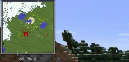 Скачать Xaero's Minimap для Minecraft 1.16.3